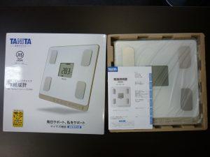 奈良県 家電 TANITA タニタ 体重計 体組成計 買取 王寺
