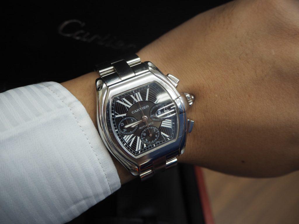 カルティエ Cartier 時計 ロードスターw62020x6(2618)ブランド 買取 浜松市