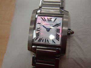 腕時計 Cartier タンクフランセーズをお買取り!大吉ゆめタウン八代店