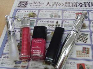化粧品もお任せください!買取専門店大吉霧島国分店です!
