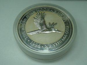 オーストラリアの1kgの大型銀貨をお買取!霧島市の買取専門店大吉霧島国分店です。