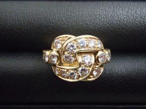 CHAUMET ダイヤモンドリングをお買取り!大吉ゆめタウン八代店