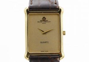 ボーム&メルシエ K18腕時計