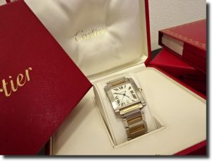 Cartier タンク