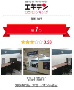 ランキング1位!買取専門店大吉 イオン宇品店!