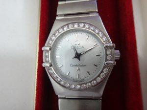 大吉調布店で買取りしたオメガの時計