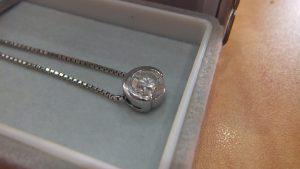 ダイヤモンド1ctのネックレスをお買取りいたしました!大吉松江店