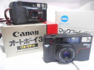 色々なカメラ