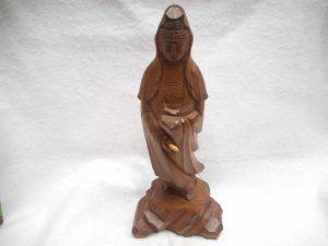 一刀彫の仏像