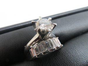 ダイヤモンドの指輪のお買取りを致しました。