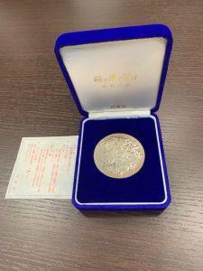桜の通り抜け記念メダル