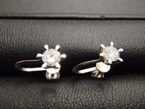 ダイヤモンド付きイヤリングをお買取り!大吉ゆめタウン八代店