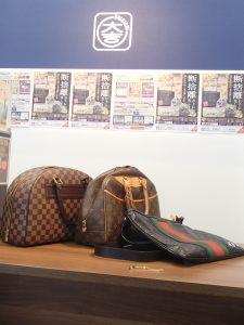 ルイヴィトンにグッチにブランド続々。バッグではなくブランドアクセもおまかせ!姶良市の買取専門店大吉タイヨー西加治木店です!