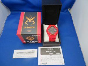 G-SHOCK「機動戦士ガンダム 35周年記念 シャア専用」をお買取りさせて頂きました。