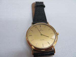 オメガ・デヴィル紳士時計のお買取りさせて頂きました。
