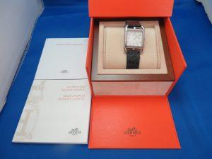 本日はエルメスの時計をお持ち頂きました。