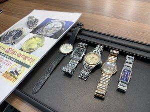 腕時計買取!動かない○・壊れている○・ベルト付け替え○・っぽい腕時計○、姶良市・買取専門店大吉タイヨー西加治木店はオールOKです!