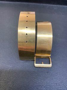 18金時計ベルト買取ました!大吉羽曳野店