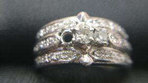 プラチナのダイヤモンドリングをお買取りです!石が取れていてもお買取りできます!買取専門店大吉イオンタウン仙台泉店です♪