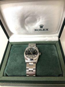ロレックスの時計買取りました。福山市、大吉サファ福山店です。