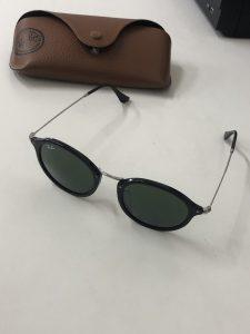 レイバンのサングラスを買い取りました。大吉サファ福山店です。