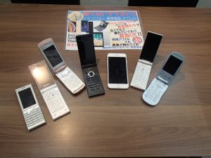 ガラケーも!iPhoneも!機種問わず!携帯電話のお買取りは姶良市の買取専門店大吉タイヨー西加治木店です!