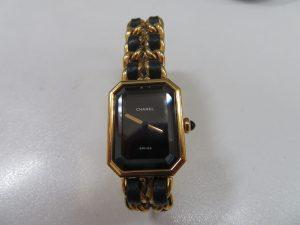 シャネル プリミエル レディース腕時計をお買取りさせて頂きました。