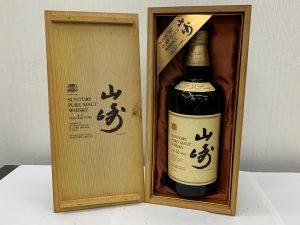 山崎 山崎12 ウィスキー お酒 買取 売る 大吉 多摩平店 東京