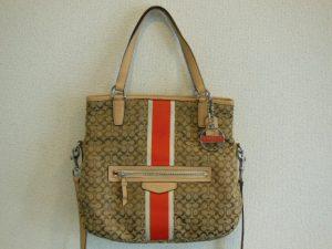 コーチのバッグをお買取りさせていただきました!!大吉松江店
