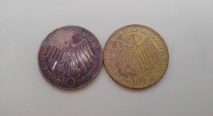 ドイツの銀貨