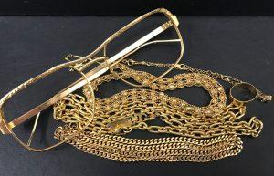 K18 ネックレス ブレスレット メガネ