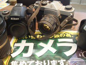 折込チラシ効果でお持ち込み多数!引き続きカメラ集めてます!姶良市の買取専門店大吉タイヨー西加治木店です!