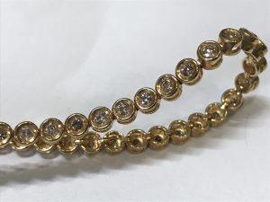 メレダイヤ付きネックレスをお買取りしました大吉国立店です!!