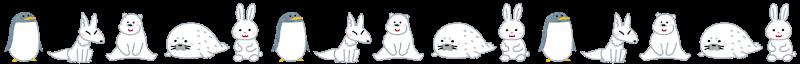 line_winter_animal