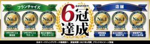 6冠達成 大吉