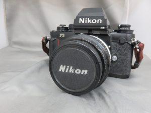 本日はNikon一眼レフF3をお買取りさせて頂きました。